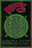 Ninja Cut Pizza 1 Posters