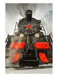 Soviet Steam Locomotive III Prints