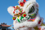 Chinese Dragon during Golden Dragon Parede. Photographic Print by  bettorodrigues