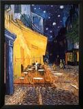 Den udendørs café på Place du Forum, Arles, om natten, ca.1888 Plakater af Vincent van Gogh
