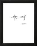 Hunden Posters av Pablo Picasso