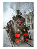 Soviet Steam Locomotive II Prints