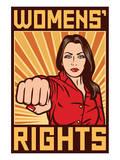 Women's Rights Poster Láminas