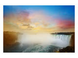 Colorful Niagara Falls Sunset Print