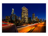 Los Angeles Sunset Skyline Prints