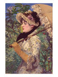 Le Printemps Prints by Édouard Manet
