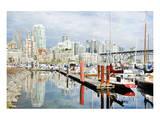 Granville Isld Harbor Vancouver Prints