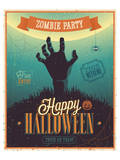 Halloween Zombie Party Prints