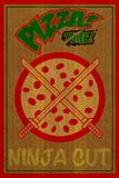 Ninja Cut Pizza 3 Plastikskilte