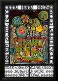 Noas ark Posters av Friedensreich Hundertwasser