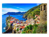 Vernazza Town Cinque Terre Italy Posters