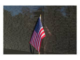 Flag Vietnam Veterans Memorial Prints