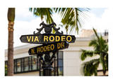 Rodeo Drive Beverly Hills USA Prints