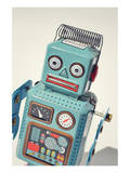 Vintage Tin Toy Robot Prints