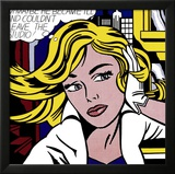 M-Maybe, 1965 Affiches par Roy Lichtenstein