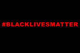 Lives Matter Plastic Sign