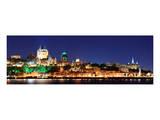 Quebec City Skyline at Dusk Prints