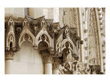 Gothic Cathedral Stone Detail Prints