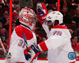 Carey Price & P.K. Subban 2013-14 Action Photo