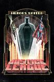 DC Comics Batman - Art Deco Poster