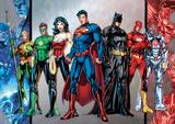DC Comics - Group Foil Poster Obrazy