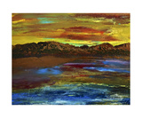 Desert Sunset Photographic Print by Dick Bourgault