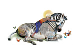 Zebra Love Photographic Print by Nancy Tillman