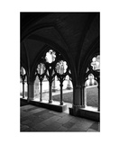 Bayonne Arcades Monastery Photographic Print by Erwann Morel