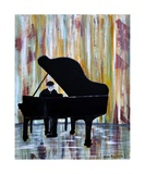 Piano Man Photographic Print by Dick Bourgault