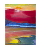 Abstract Sunset Photographic Print by Dick Bourgault