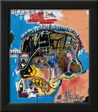 Sans titre Reproduction giclée encadrée par Jean-Michel Basquiat
