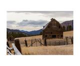 Eastern Washington Barn Photographic Print by Thomas Soerenes