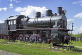 Steam Locomotive Built in Germany of the Russian Project Photographic Print by  Sever180