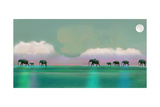 Elephant Walk Photographic Print by Nancy Tillman