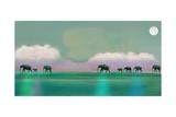 Elephant Walk Photographic Print by Nancy Tillman