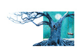 Blue Tree Photographic Print by Nancy Tillman