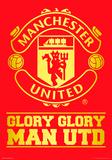 Manchester United - Crest Foil Poster Plakaty