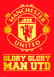 Manchester United - Crest Foil Poster Posters
