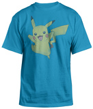 Pokemon - Pikachu Jump T-shirts