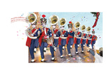 Toy Soldier Band Photographic Print by Nancy Tillman