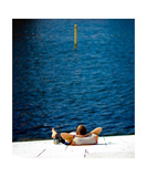 Man and Water Photographic Print by Thomas Soerenes