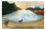 Canoe To Heaven Photographic Print by Nancy Tillman
