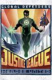 DC Comics Green Lantern - Art Deco Obrazy