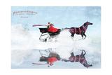Dashing Through The Snow Photographic Print by Nancy Tillman
