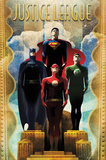 DC Comics Team - Art Deco Posters