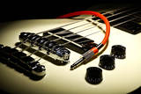 Guitar and Wire Photographic Print by Alexandru Nika