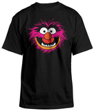 The Muppets - Animal Big Face T-Shirt