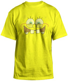 Spongebob Squarepants - Excited Face T-shirts