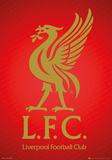 Liverpool - Crest Foil Poster Prints