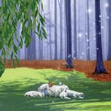 Asleep With Sheep Reproduction photographique par Nancy Tillman